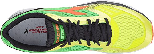 Diadora Mens N-6100-4 Yellow Fluo/Green Fluo 0wKWN