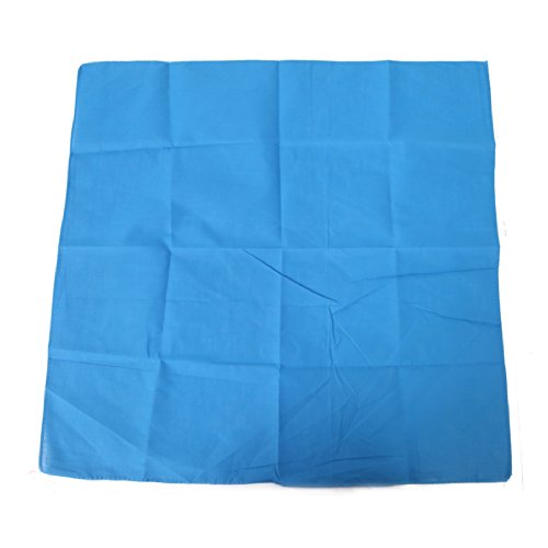 HDE Cotton Solid Bandana Handkerchief