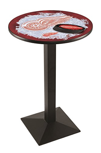(Holland Bar Stool L217B3636 NHL Detroit Red Wings Officially Licensed Pub Table, 36