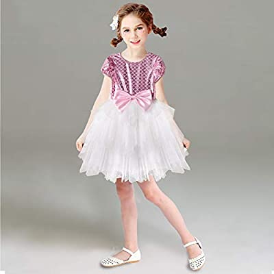 Acecharming Mermaid Dress for Girls, Little Ariel Princess Costume Girls Fancy Party Dresses: Clothing