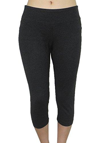 Womens Bally Total Fitness Sports Skinny Leggings / Yoga Capri Pants