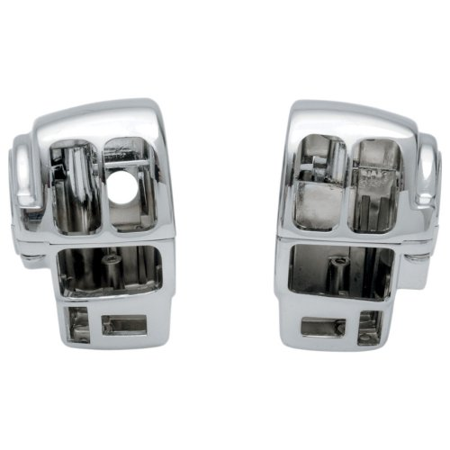 Cycle Switch Handlebar Country (Hill Country Customs Chrome Switch Housings for 1997-2006 Harley-Davidson Ultra Classic & Road King models w/Cruise - HC-SH1001C)