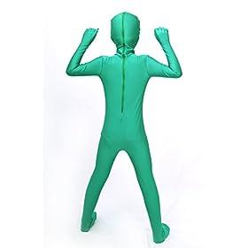 - 41fQqCj7TzL - Halloween Costume ET Dress Up Alien Kids Zentaisuit Adult Lycra Spandex Bodysuit