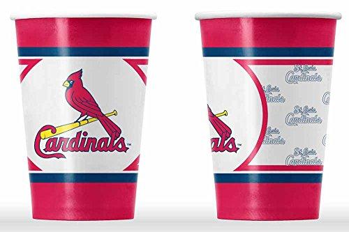 St. Louis Cardinals Disposable Paper Cups