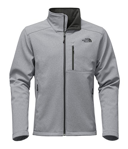 (The North Face Men's Apex Bionic 2 Jacket - TNF Mid Grey Heather & TNF Mid Grey Heather -)