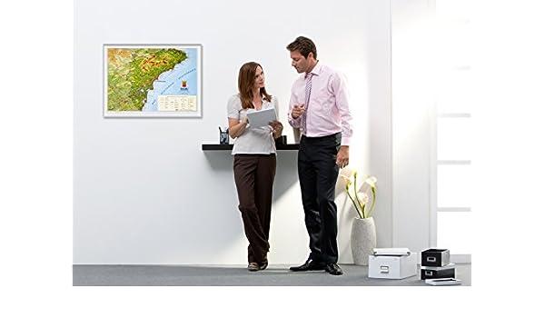 Mapa en relieve de la provincia de Alicante / Alacant Costa Blanca - Tamaño 47 x 34 cm: Amazon.es: BACHER VERLAG: Libros