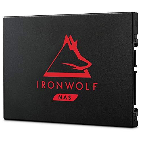 Seagate IronWolf 125 SSD 500GB NAS Internal Solid State Drive - 2.5 Inch SATA 6Gb/s speeds of up to 560MB/s with Rescue Service (ZA500NM1A002)