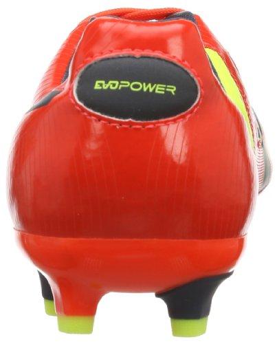 Puma Evopower 3 Fg - Zapatillas de fútbol Rojo (Rot (fluro peach-ombre blue-fluro yellow 01))
