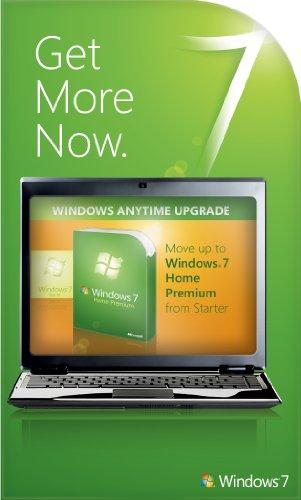 Microsoft Windows Anytime Upgrade Starter