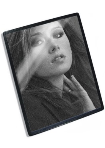 JEWEL STAITE - Original Art Mouse Mat (Signed by the Artist) #js001 (Signed Jewel)