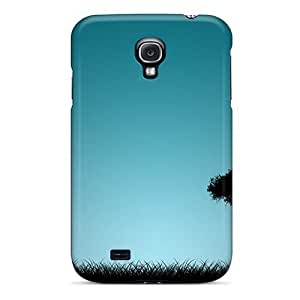 Special Touching Rhythms Skin Case Cover For Galaxy S4, Popular The Lonely Tree Phone Case