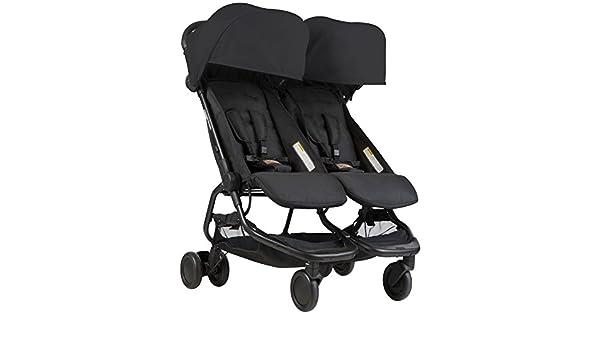 Mountain buggy Nano Duo v1 de gemelos, carrito - Black Negro: Amazon ...