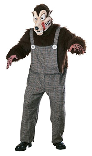 Couple Costume Wolf (Rubie's Costume Co. Men's Wolf Costume, As Shown, One Size)