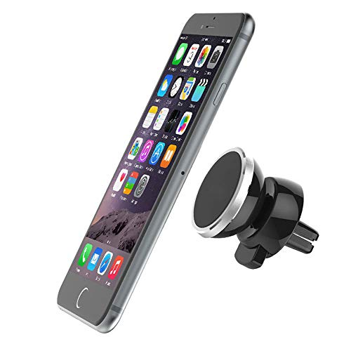 360° Car Magnetic Air Vent Mount Holder Stand for Mobile Cell Phone iPhone GPS (Black) -