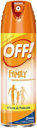 OFF! Family Repelente de Insectos en aerosol 170 gr