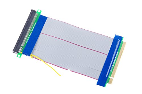 KNACRO PCI-E 16X Extension Cable 164-Pin Graphics Extension Cable External 12V Power Supply by KNACRO (Image #6)