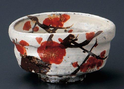UME-FUKURA 4.7inches MATCHA BOWL TOHKI Japanese Pottery by Watou.asia