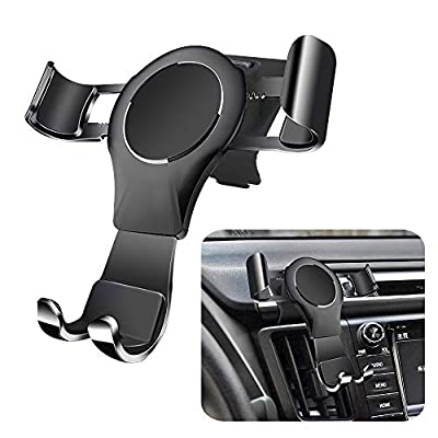LUNQIN Car Phone Holder for Toyota RAV4 2016-2020 Auto Accessories Navigation Bracket Interior Decoration Mobile Cell Phone Mount