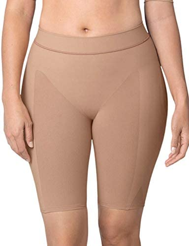 Leonisa Women's Petite Plus Well-Rounded Invisible Butt Lifter Shaper Short