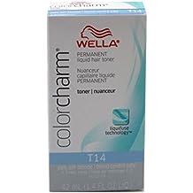 Wella Color Charm Liquid Toner #T14 Pale Ash Blonde (41ml) (2 Pack)