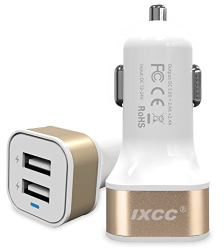 iXCC Dual Port Charger Charging Adapter