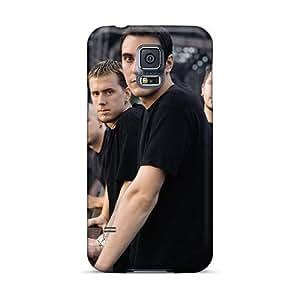 Samsung Galaxy S5 YAN3340PxHE Custom Colorful Breaking Benjamin Pictures Anti-Scratch Hard Cell-phone Case -SherieHallborg