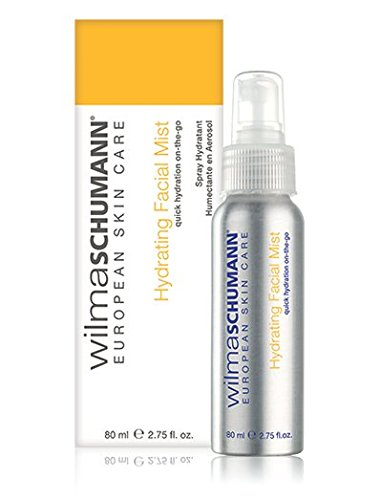 WILMA SCHUMANN Hydrating Facial Mist (2.75 Ounces/80 Milliliter) - Rescue Dehydrated, Overheated, or Tired Skin With a Quick ()