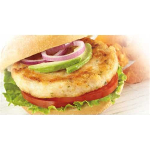 Trident Seafoods Wild Caught Alaskan Whitefish Burger, 10 Pound - 1 each.