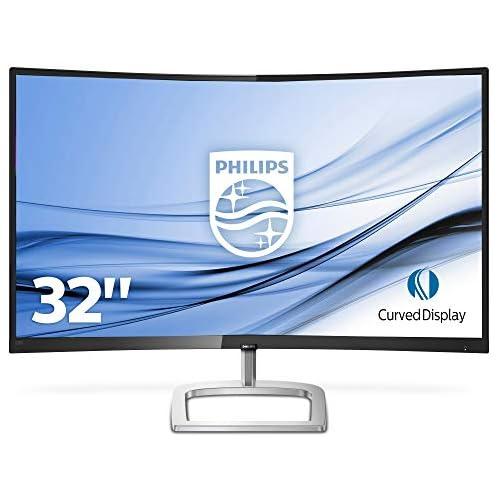 chollos oferta descuentos barato Monitor PHILIPS 328E9QJAB Pantalla para PC Curvo DE 32 FHD RESOLUCIÓN 1920X1080 FRESSYNC FLICKERFREE LOWBLUE Mode Altavoces VESA HDMI DISPLAYPORT 1 2