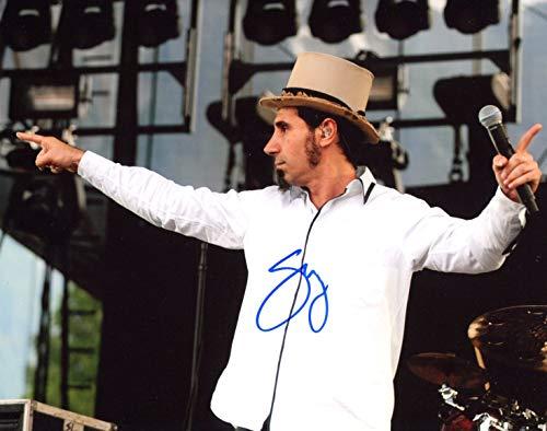 MUSICIAN Serj Tankian autograph, signed photo