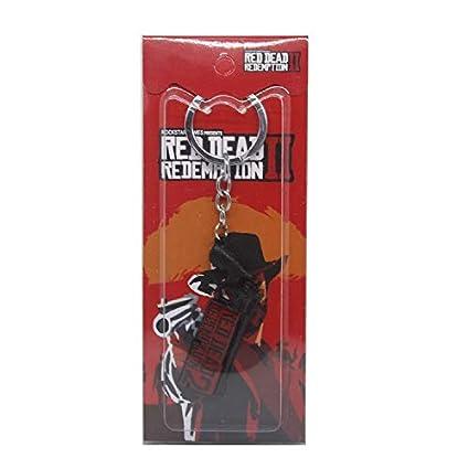 Momoso_Store red dead redemption letter keychain 3d gun ...