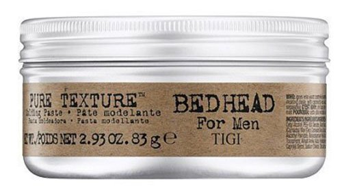 TIGI Bed Head Men Pure Texture Molding Paste, 2.93 - Head Shapes Men
