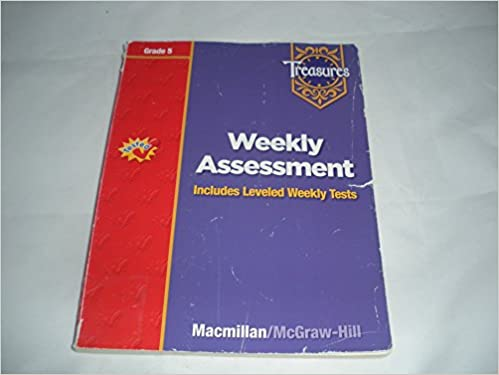 Treasures Grade 5 Weekly Assessment Includes Leveled