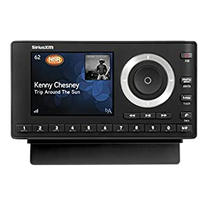 SiriusXM SXPL1V1 Onyx Plus Satellite Radio with Free 3 Months Satellite and Streaming Service