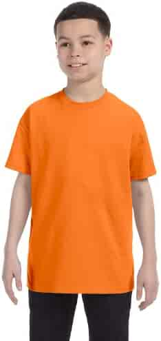 Gildan boys Heavy Cotton T-Shirt(G500B)