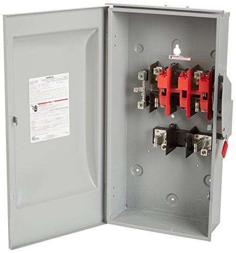SIEMENS GF224NR 200 Amp, 2 Pole, 240-Volt, 3 Wire, Fused, General Duty, Outdoor Rated by Siemens (Image #1)