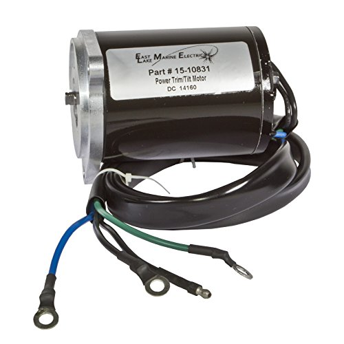ELM Products Compatible with Yamaha Power Trim/Tilt Motor 4 Wire 3 Bolt Mount 225 250HP 61A-43880-01 18-6782
