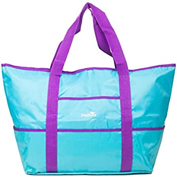Amazon.com: Bolsa de compra, de Everest, Rosado/Negro ...