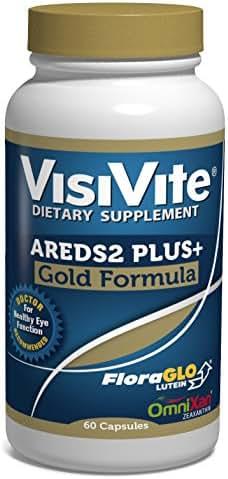 VisiVite AREDS2 PLUS+ Gold Formula, 60 Capsules