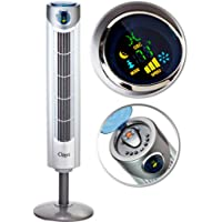 Ozeri Ultra 42 Wind Adjustable Oscillating Tower Fan - with Noiseless Airflow Technology