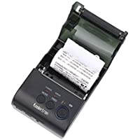 Koolertron 58mm Mini Portable Battery Power Display Function Android Bluetooth Port Thermal Printer PC Compatible