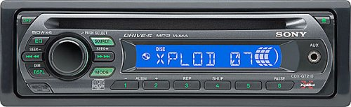 amazon com sony cdx gt210 in dash cd mp3 wma receiver sports amazon com sony cdx gt210 in dash cd mp3 wma receiver sports outdoors