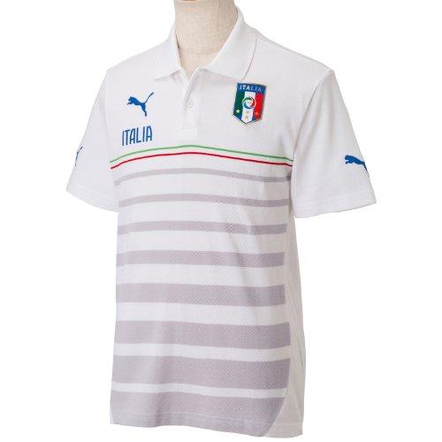 Hooped Puma vert Figc Italia Polo Blanc Homme rouge Pour Blanc Leisure 16awfAq
