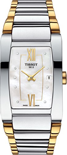 Tissot Generosi-T White Mother of Pearl Dial Ladies Watch T105.309.22.116.00