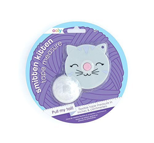 Cat Tape Measure - Ooly Smitten Kitten Measuring Tape - Extends to 60