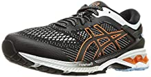 Asics Gel-Kayano 26, Running Shoe Mens, Black/Polar Shade, 39.5 EU