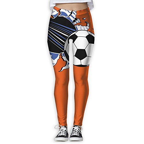 Soccer Football Break The Wall Women s Compression Pants Sports Leggings  Tights Baselayer Trousers For Yoga Fitness 0684680333