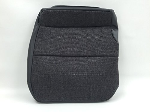 - 1995-2006 Isuzu NPR Driver Bottom Replacement Seat Cover Steel Gray