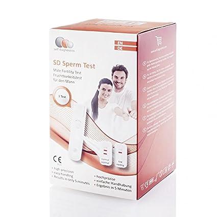 SD Sperm Test - Prueba de fertilidad masculina