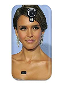 New Style ColorfulCase Jessica Alba Golden Globes 2012 Premium Tpu Cover Case For Galaxy S4